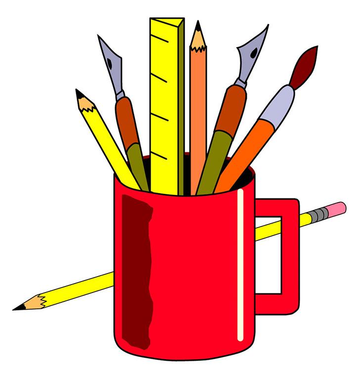 clipart school supplies - photo #44