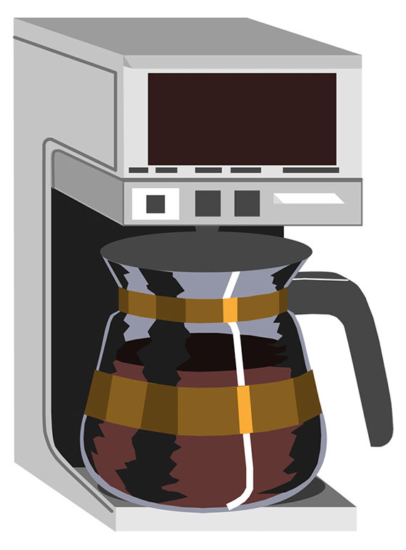 Clip Art Coffee Maker ~ Coffee maker clipart